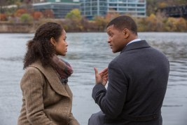 """Gugu Mbatha-Raw and Will Smith star in Columbia Pictures' """"Concussion."""""""